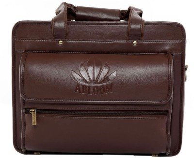 Abloom ABLM1505 Medium Briefcase - For Men(Brown)