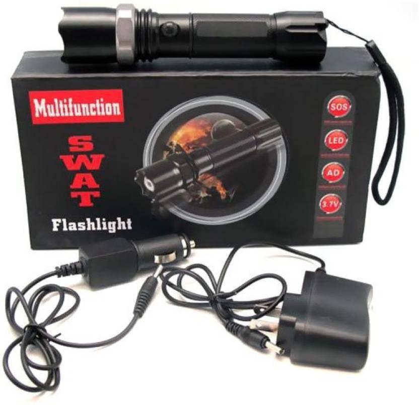 View SFL SWAT1101 Emergency Lights(Black) Home Appliances Price Online(SFL)