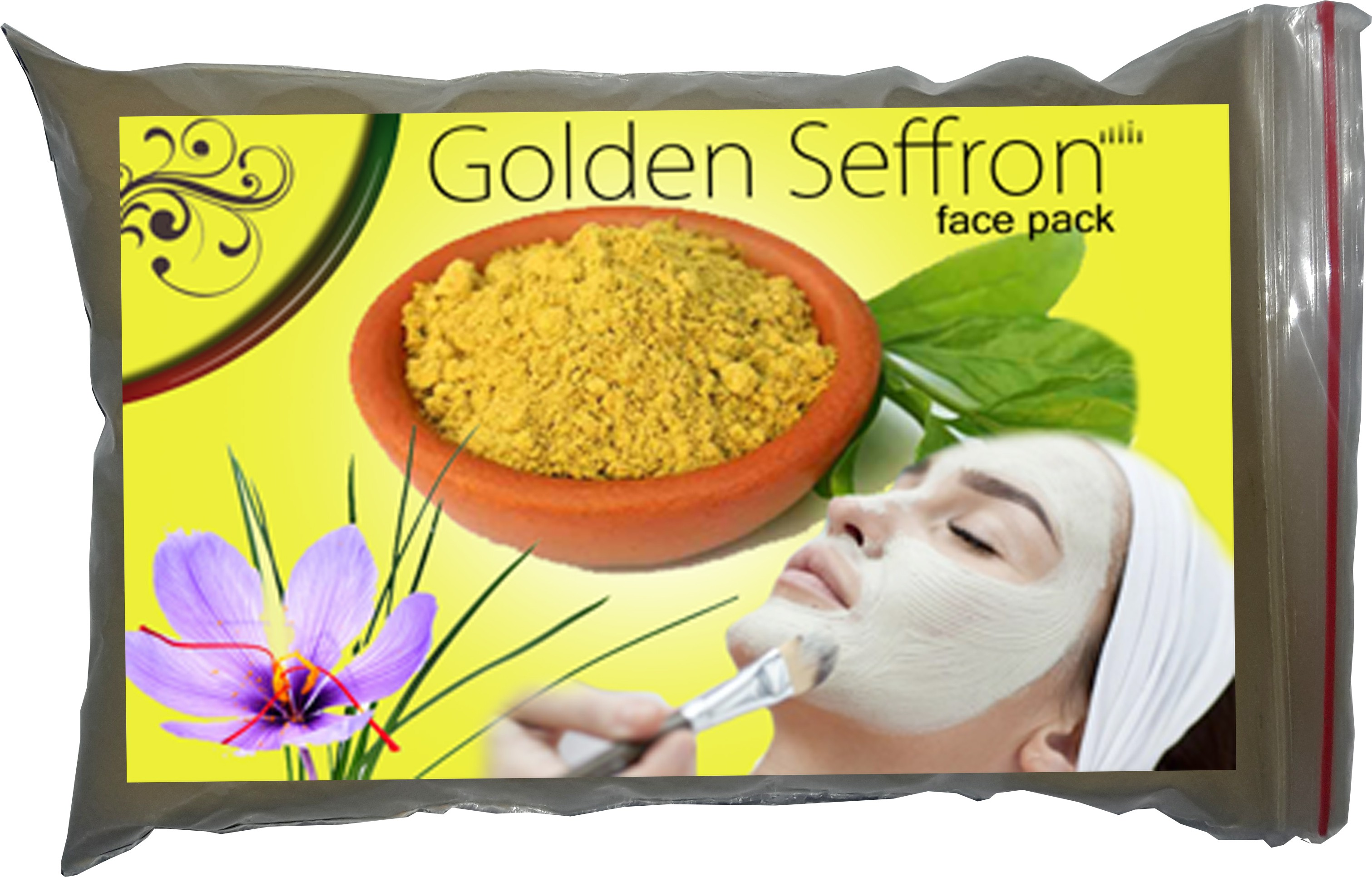 Waltzer India bentonite powder face pack(200 g)