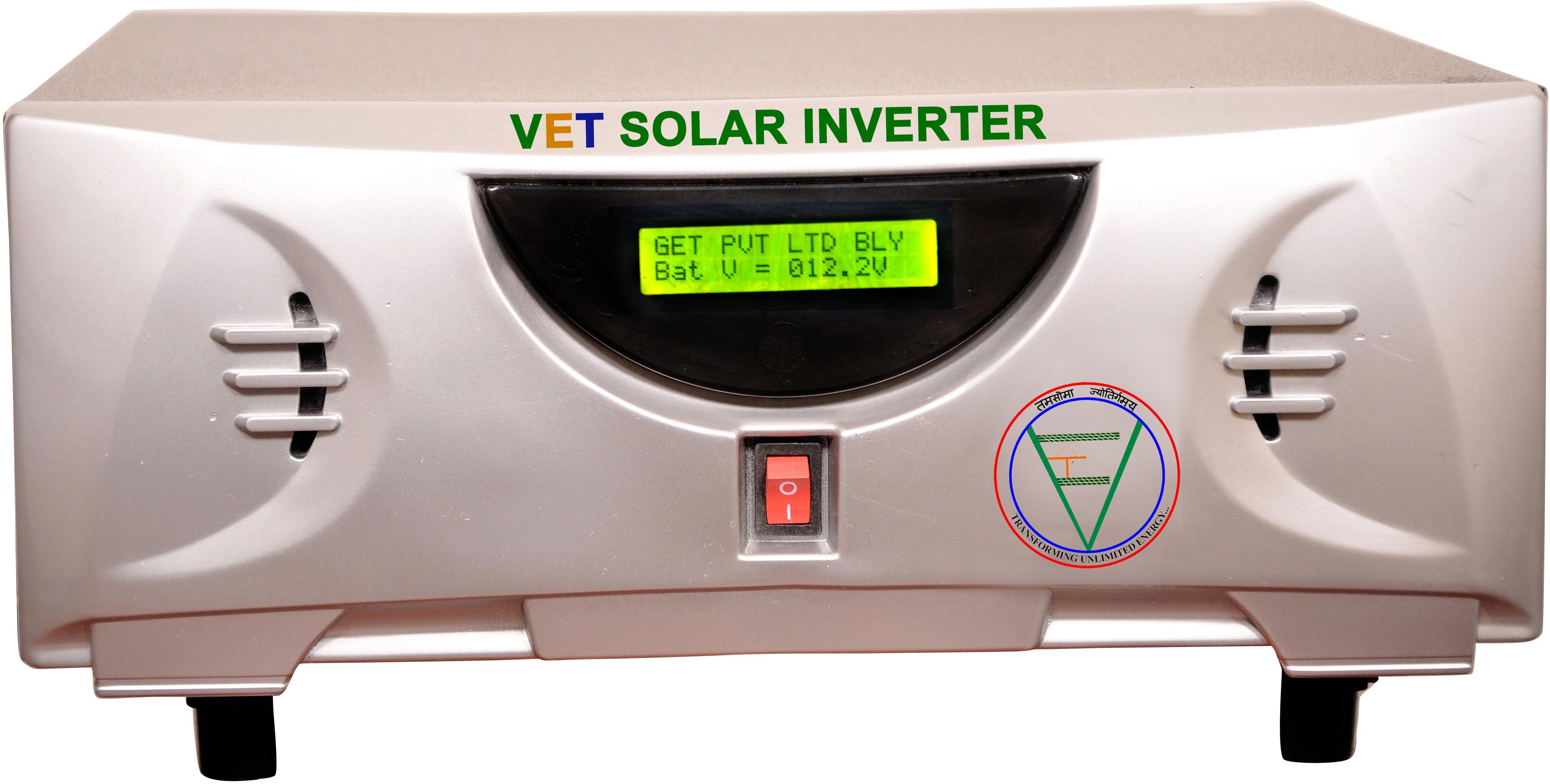 View VET VETTG0k4 400VA Hybrid Solar Inverter Pure Sine Wave Inverter Home Appliances Price Online(VET)
