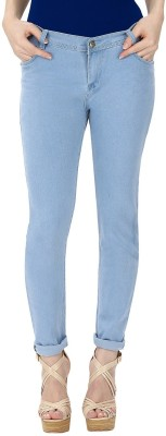 Gudlu Slim Women's Light Blue Jeans at flipkart
