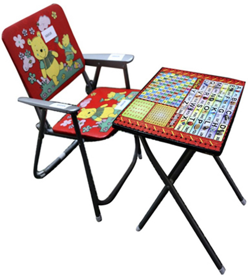 View ABASR KIDS STUDY TABLE AND CHAIR Solid Wood Desk Chair(Finish Color - RED) Furniture (Abasr)