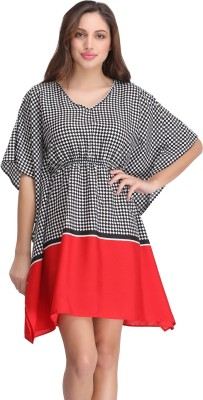 Clovia Women's Nighty(Red) at flipkart