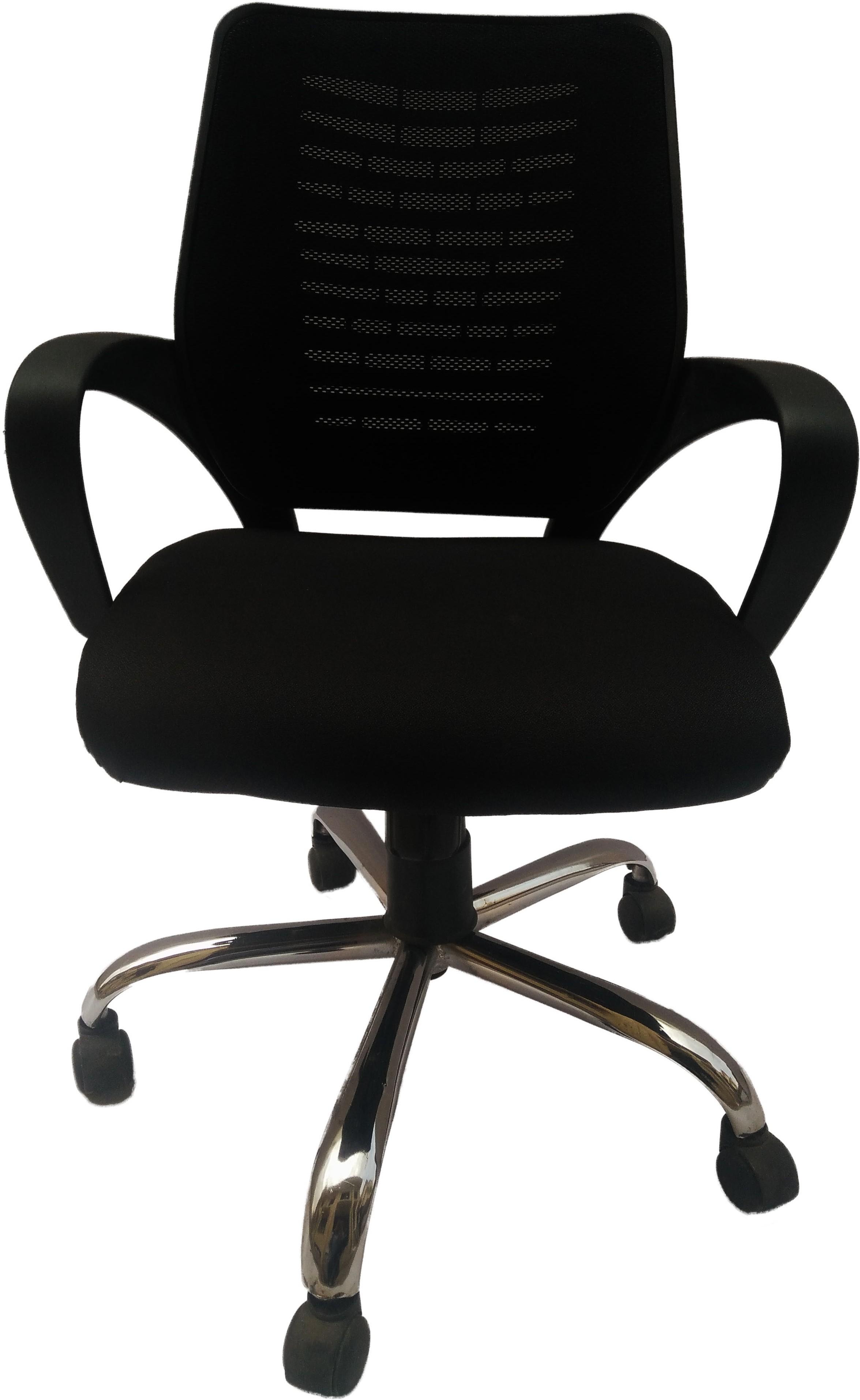 View Sogno SOGNO Fabric Office Chair(Black) Furniture (Sogno)