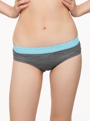 C9 Women's Brief Grey Panty(Pack of 1) at flipkart