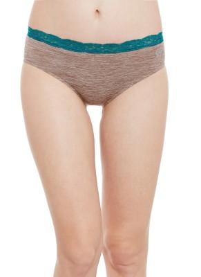 C9 Women's Brief Brown Panty(Pack of 1) at flipkart