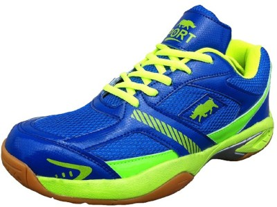 Port Rhino Court Badminton Shoes(Multicolor)