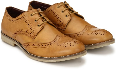 Fentacia Brogue Lace Up(Tan)