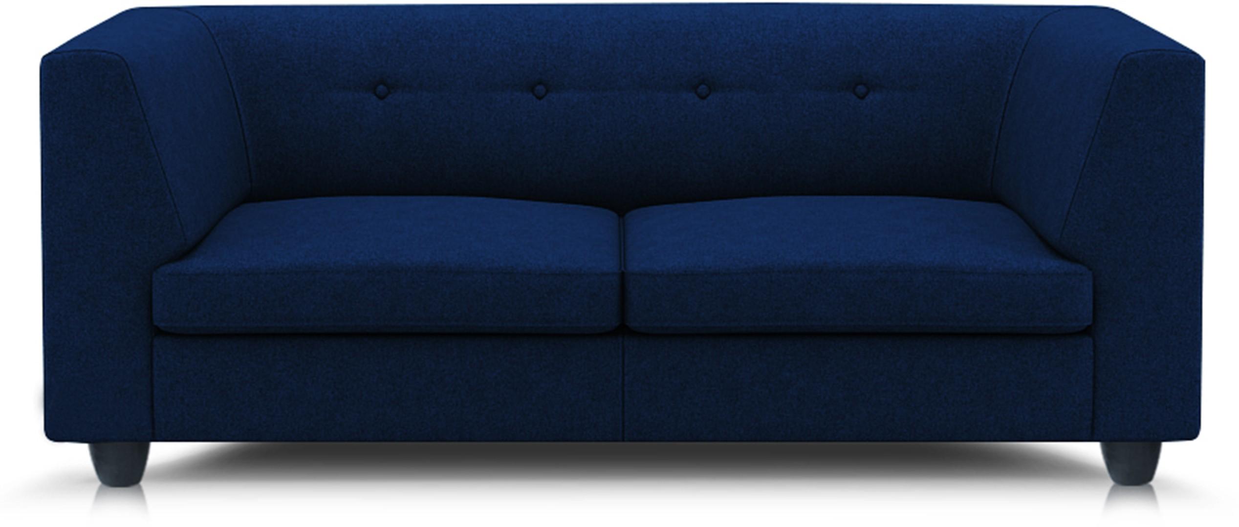 View Adorn homez Modern Solid Wood Sectional Navy Blue Sofa Set Furniture (Adorn homez)