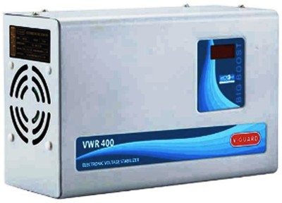 V Guard VWR 400 Voltage Stabilizer(Black, Red)