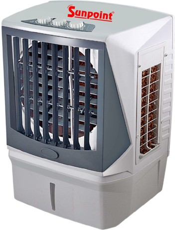 View Sunpoint 12Mini Room Air Cooler(Light Gray, 18 Litres)  Price Online