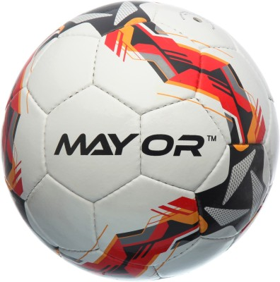 Mayor Kicker Football - Size: 5(Pack of 1, Multicolor)