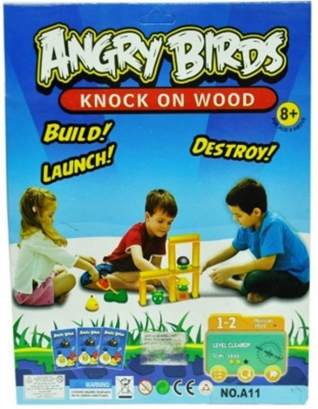 HALO NATION Angry Birds Knock On Wood Game Board Game