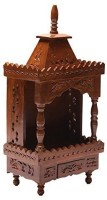 Skwood Wooden Home Temple(Height: 41 cm)