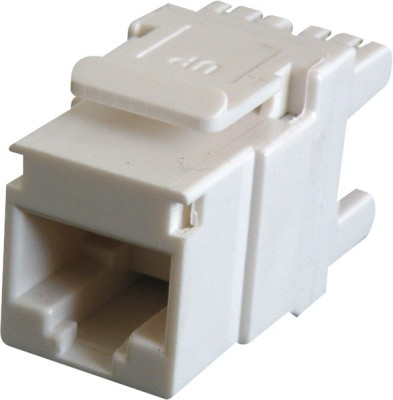 MX RJ45 CAT 6 I/O Punch Down Network Keystone Jack CAT6 Lan Adapter(100 Mbps)