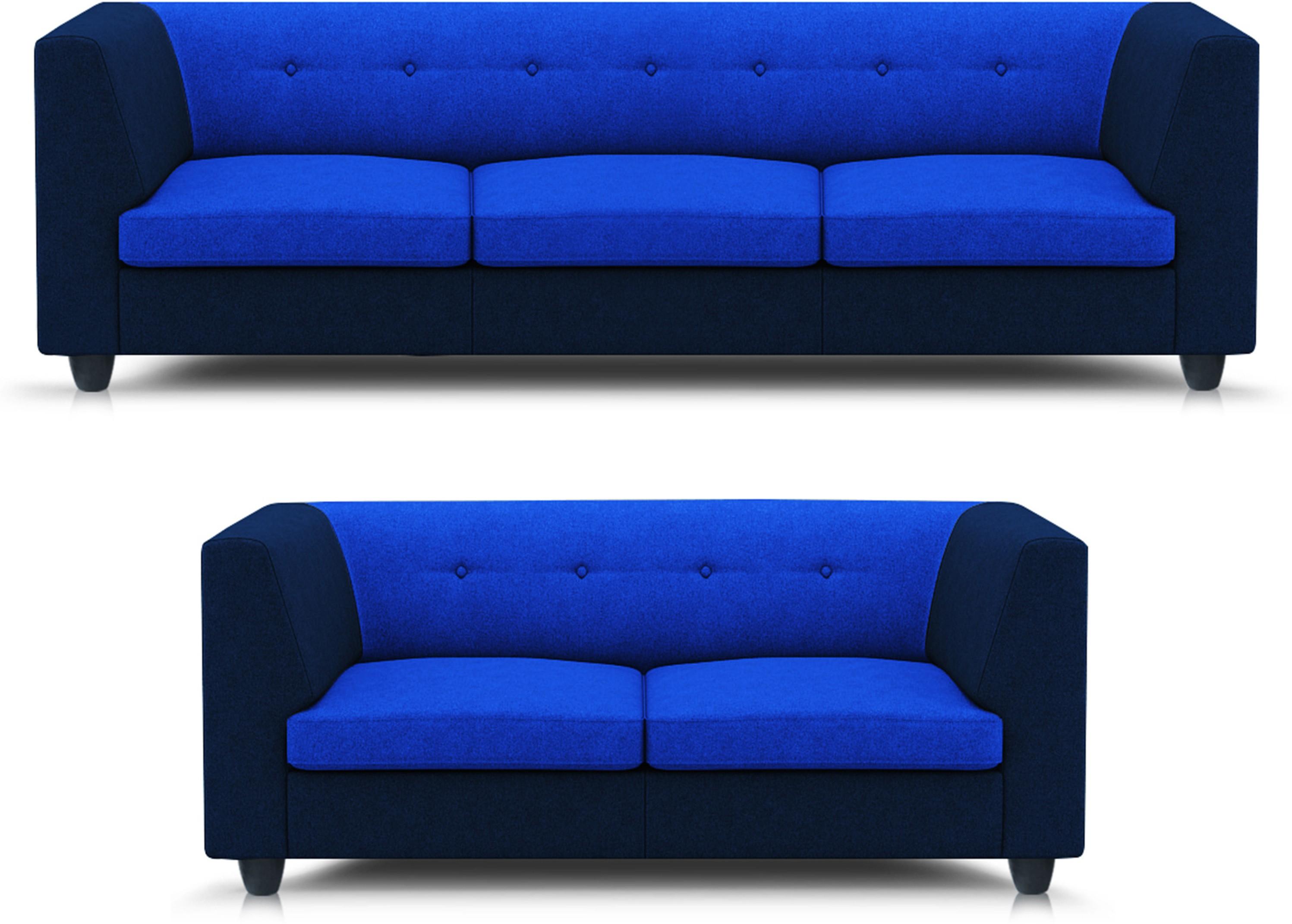 View Adorn homez Modern Solid Wood 3 + 2 Multi Sofa Set Furniture (Adorn homez)