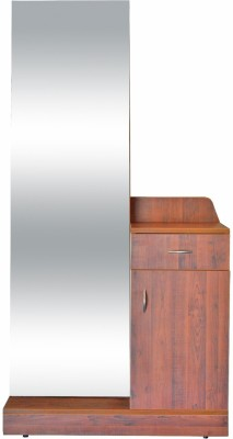 Eros Engineered Wood Dressing Table(Finish Color - Wooden)