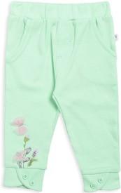 MINI KLUB Legging For Girls(Light Green Pack of 1)