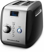 Kitchen Aid 5KMT223GOB 1100 W Pop Up Toaster(ONYX Black)