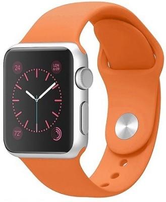 ShopAIS iWatch 42mm Silicon Band Orange Smart Watch Strap(Orange)