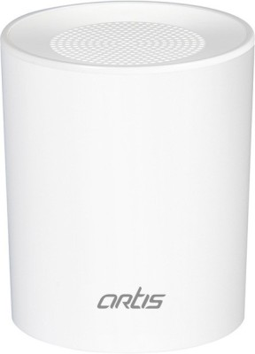 Artis BT08 Wireless Portable Bluetooth Speaker with Aux in / TF Card Reader / Mic. Portable Bluetooth Mobile/Tablet Speaker(White, Mono Channel)