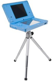 CTA Digital Tripod with Crystal Case for DSi IDS-TCC Tripod(Silver, Supports Up to 3000 g)