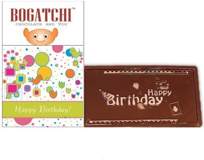 Bogatchi Happy Birthday Bar Bars(Pack of 1, 70 g)
