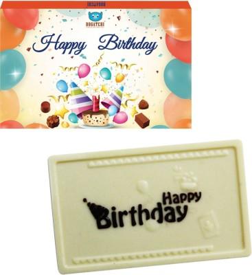 Bogatchi Happy Birthday Wishes Bars(Pack of 1, 70 g)