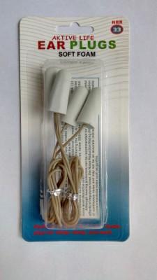 Aktive Life Foam Ear Plugs Ear Plug(Grey)