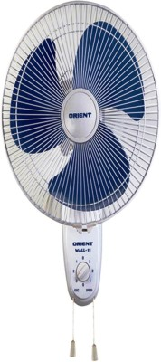 Orient WALL 11 3 Blade 300 mm Wall Fan(Peppy Red)