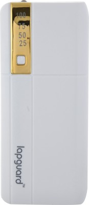 Lapguard G515 10400 mAh Power Bank(White, Gold, Lithium-ion)