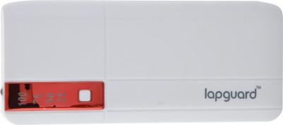 Lapguard G515 10400 mAh Power Bank(White, Red, Lithium-ion)