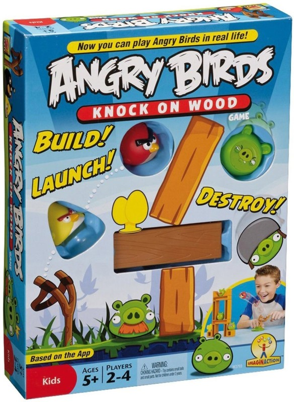 HALO NATION Angry Birds Knock On Woods II Board Game
