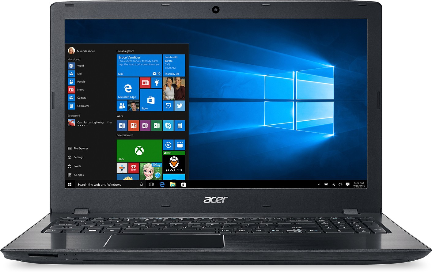 View Acer Aspire Core i5 7th Gen - (8 GB/1 TB HDD/Linux/2 GB Graphics) E5-575 Notebook(15.6 inch, Black, 2.23 kg) Laptop