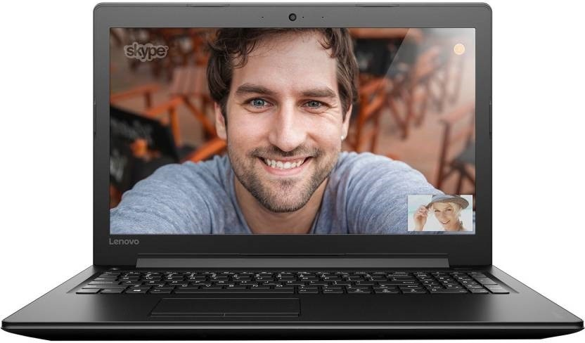 View Lenovo Ideapad Core i3 6th Gen - (4 GB/1 TB HDD/DOS) 310 Notebook(15.6 inch, Black) Laptop