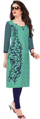 Fashion Valley Cotton Printed Dress/Top Material(Un-stitched)