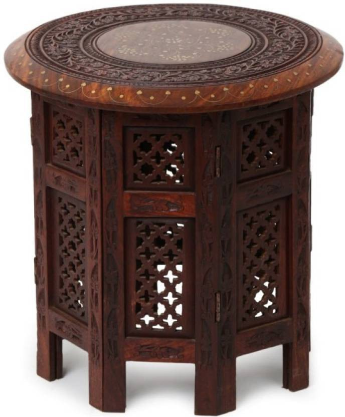 View Khan Handicrafts k120 Hospital Food Stool(Wooden) Furniture (Khan Handicrafts)