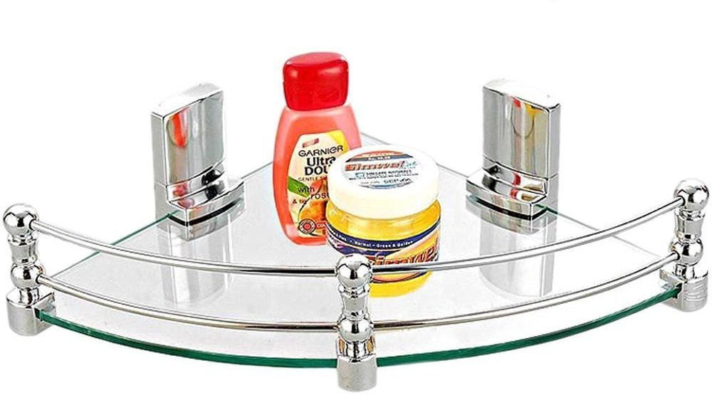 View Bedi Royal Glass Wall Shelf(Number of Shelves - 1) Furniture (Bedi Royal)