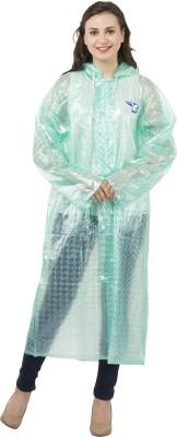 BURDY Solid Womens Raincoat