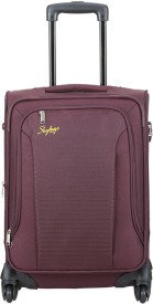 Skybags Napier Expandable Cabin Luggage - 47.4 Inches(Purple)