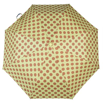 Asera 3 Fold Automatic Open Polka Dot Umbrella(Green)