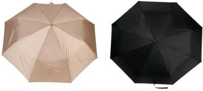 Ellis EPCUML001A Umbrella(Beige, Black)
