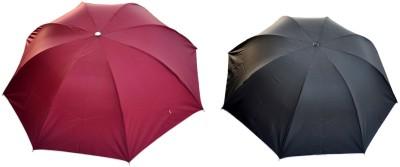 Ellis EUMLMAROONBCKA Umbrella(Maroon, Black)