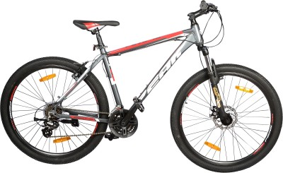 Atlas Peak P275 10 FS DB 27.5 Inches 21 Speed Grey & Red PKP227GB Mountain Cycle(Multicolor)
