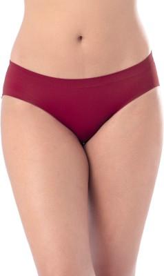 PrettySecrets Women's Bikini Red Panty(Pack of 1) at flipkart