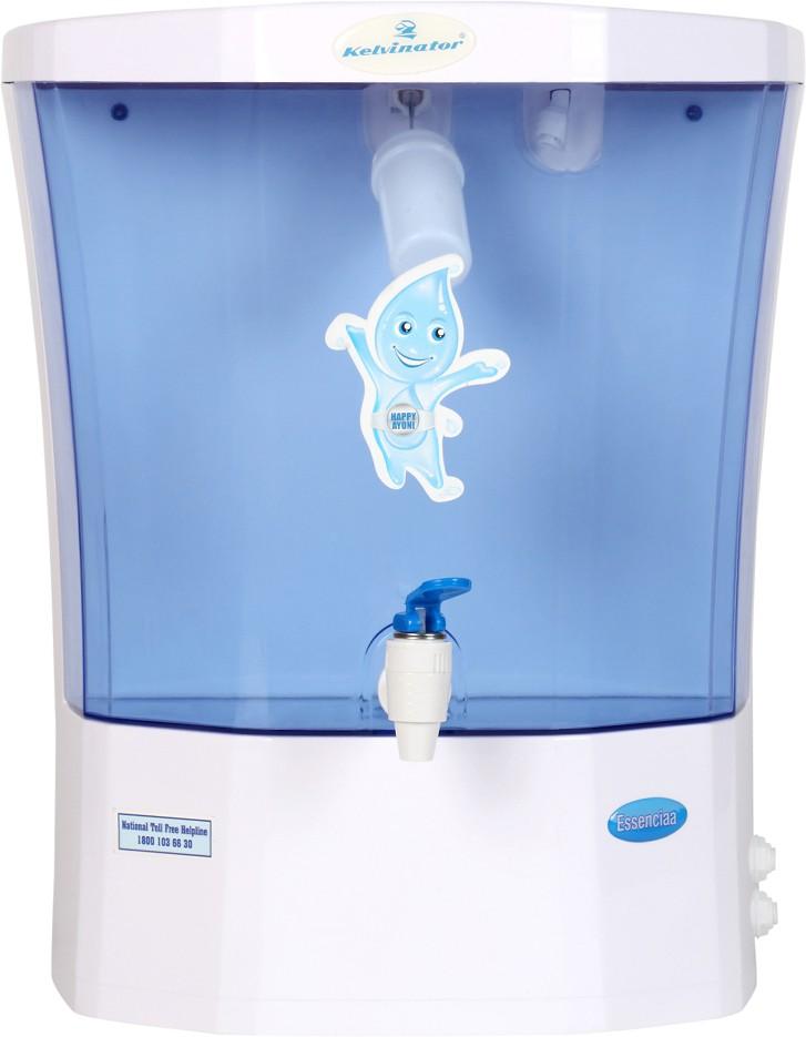 View Kelvinator Essenciaa 7.5 L RO + UF Water Purifier(Blue) Home Appliances Price Online(Kelvinator)