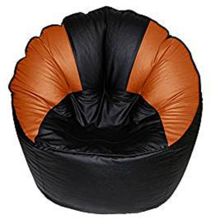 View Kainaat Fashion XXXL Bean Chair Cover(Multicolor) Furniture (Kainaat Fashion)