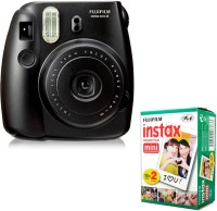 Fujifilm Instax Mini 8 (With Film) Instant Camera(Black)
