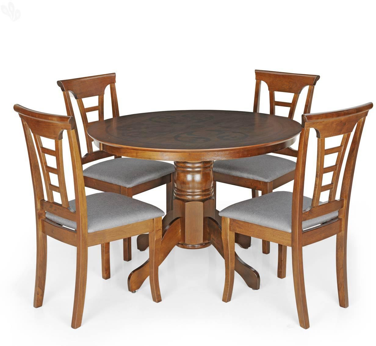 View Berlynoak Cherry Engineered Wood 4 Seater Dining Set(Finish Color - Brown) Furniture (Berlynoak)