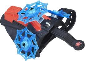 Hasbro Marvel Spider-Man Marvel Spider Man Spinning Web Launcher(Multicolor)